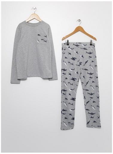 Limon Pijama Takım Renkli